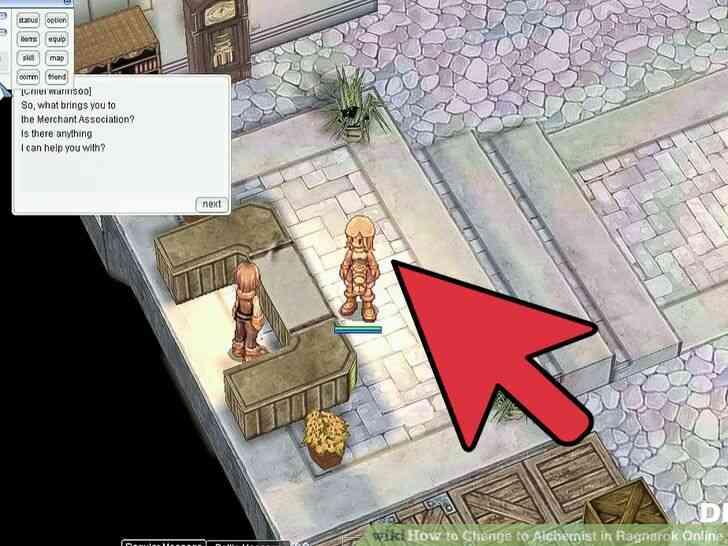 Imagen titulada Cambio de Alquimista en Ragnarok Online Paso 2