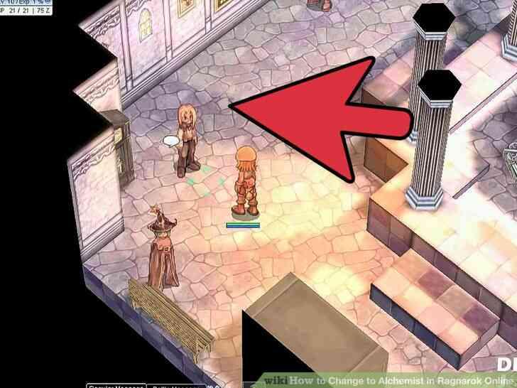 Imagen titulada Cambio de Alquimista en Ragnarok Online Paso 5