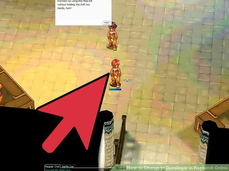 Imagen titulada Cambiar a Pistolero en Ragnarok Online Paso 6