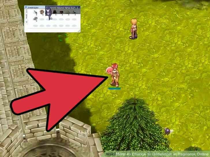 Imagen titulada Cambiar a Pistolero en Ragnarok Online de Step 7