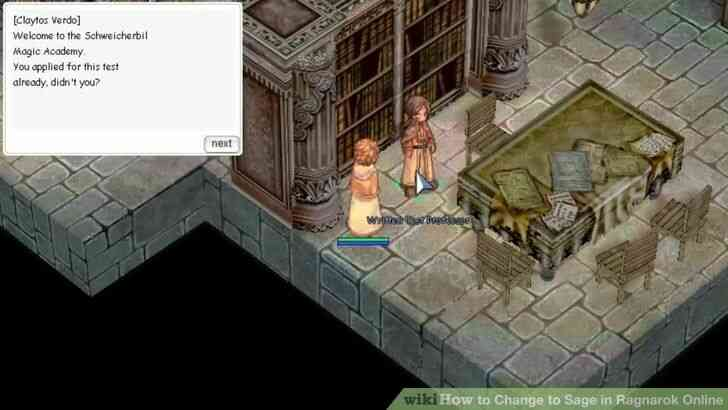 Imagen titulada Cambiar a Sage en Ragnarok Online Paso 3 vista previa