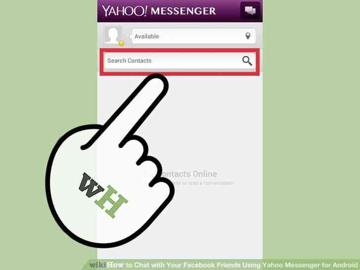 Image titulado Chat con Tu Facebook tus Amigos a través de Yahoo Messenger para Android Paso 8