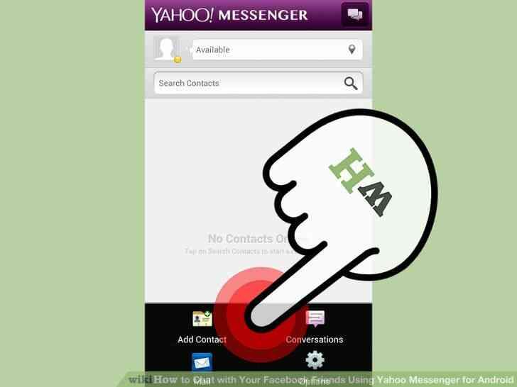 Image titulado Chat con Tu Facebook tus Amigos a través de Yahoo Messenger para Android Paso 3