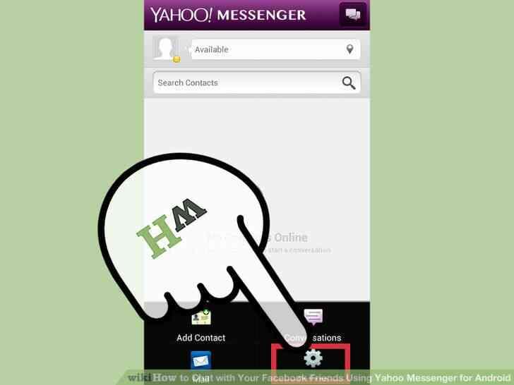 Image titulado Chat con Tu Facebook tus Amigos a través de Yahoo Messenger para Android Paso 4