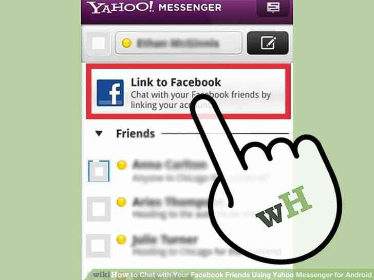 Image titulado Chat con Tu Facebook tus Amigos a través de Yahoo Messenger para Android Paso 5