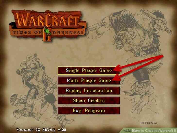 Imagen titulada Cheat en Warcraft II Paso 1