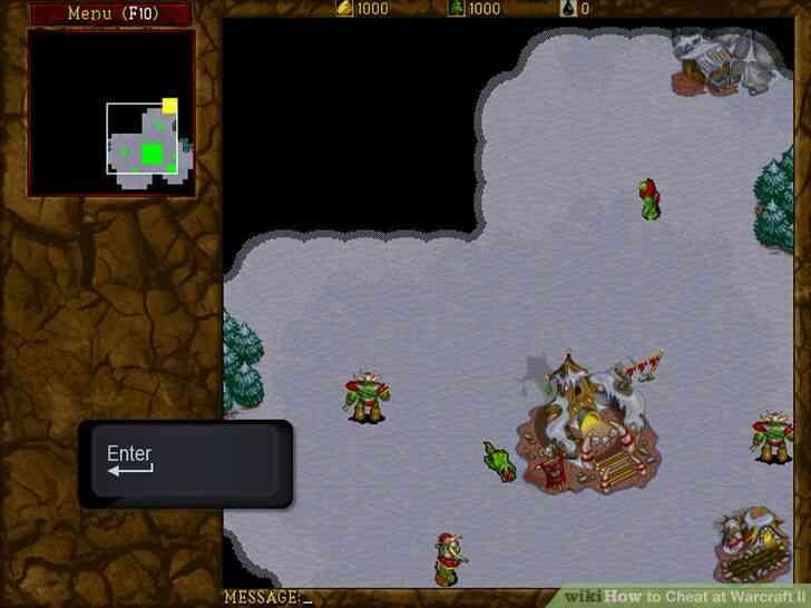 Imagen titulada Cheat en Warcraft II Paso 2