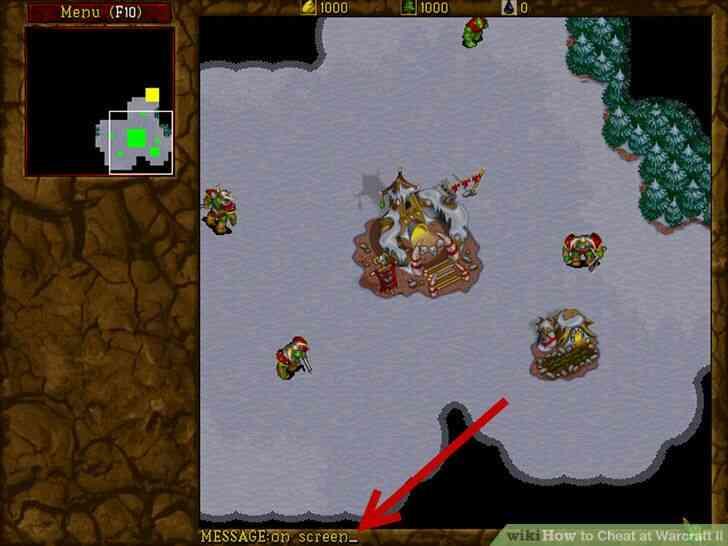 Imagen titulada Cheat en Warcraft II Paso 3