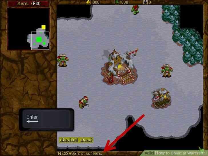 Imagen titulada Cheat en Warcraft II Paso 5