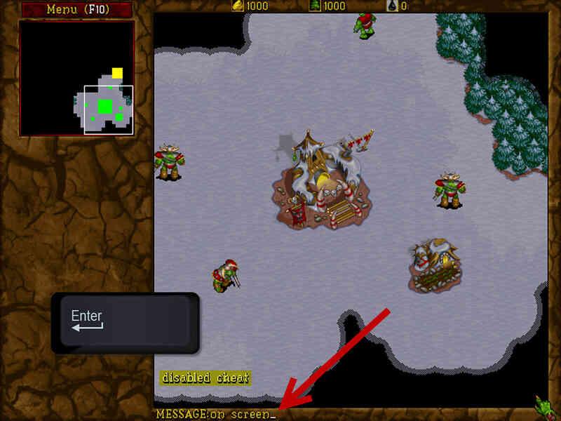 Cómo hacer Trampa en Warcraft II