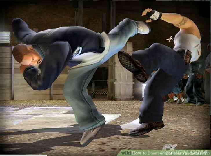 Imagen titulada Trampa en Def Jam Vendetta (PS2) Paso 1