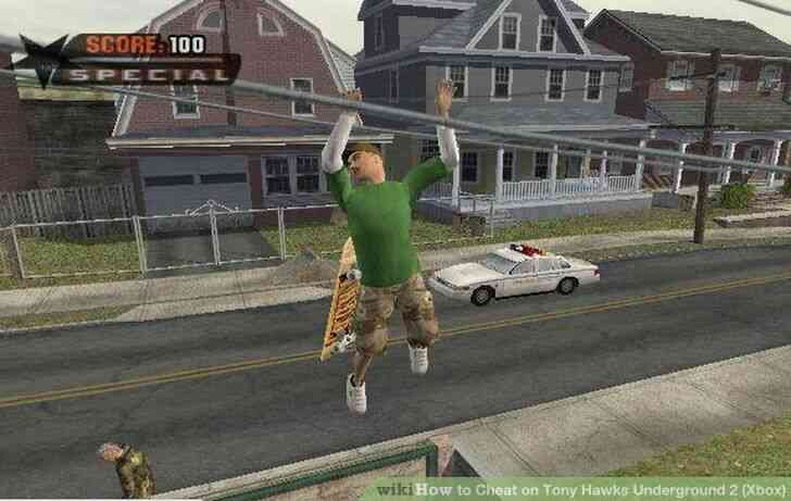 Imagen titulada Trampa en Tony Hawks Underground 2 (Xbox) Paso 4