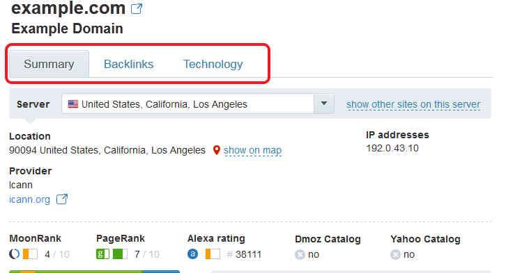 Cómo Comprobar los Backlinks de Cualquier página Web con la Herramienta Moonsearch