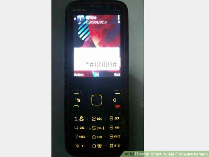 Imagen titulada Verificación de Firmware de Nokia