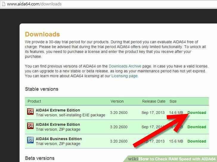 Imagen titulada Comprobar la Velocidad de la RAM con AIDA64 Paso 1