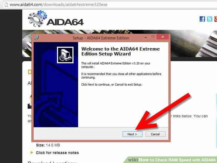 Imagen titulada Comprobar la Velocidad de la RAM con AIDA64 Paso 2