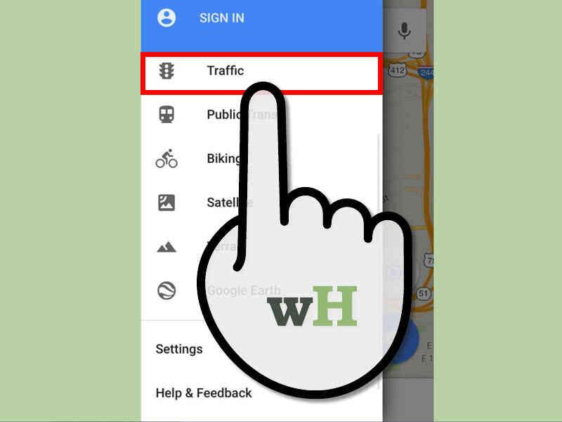 Cómo Comprobar el estado del Tráfico en Google Maps