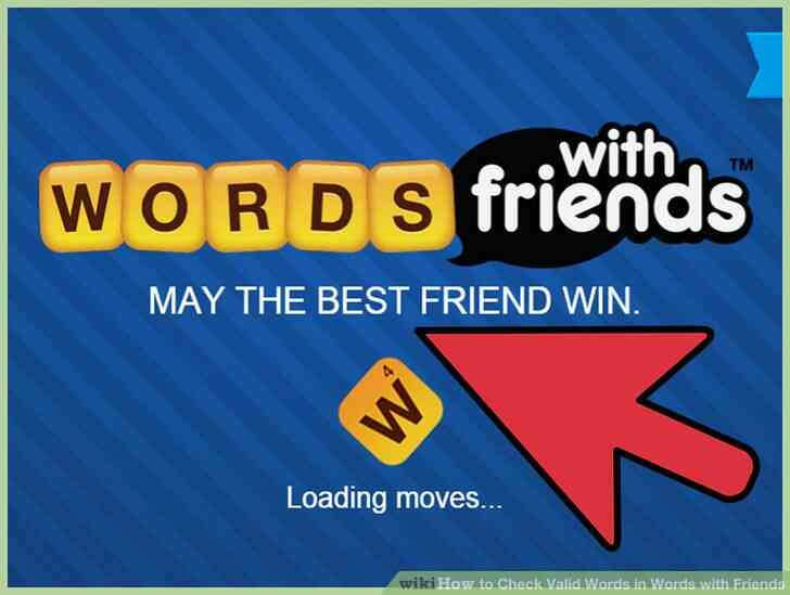 Imagen titulada Verificación de Palabras Válidas en Palabras con los Amigos Paso 1