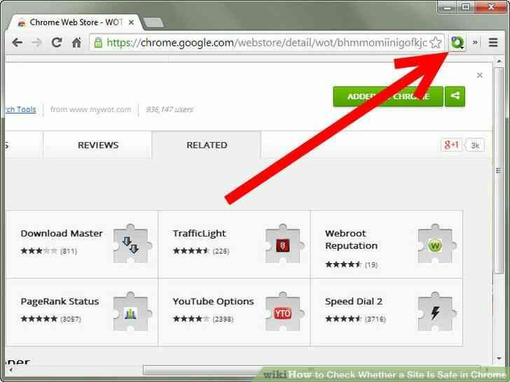 Imagen titulada Comprobar Si un Sitio Es Seguro en Chrome Paso 3