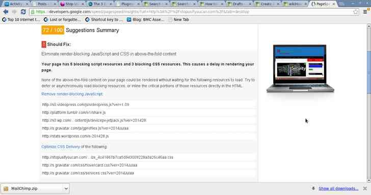 Imagen de Captura de pantalla titulado PageSpeed Insights de Google Chrome 2.png
