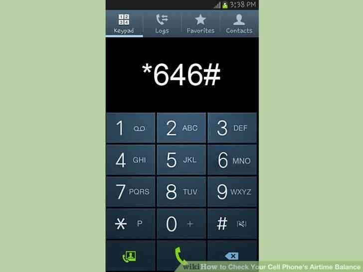 Imagen titulada Verificación de Su Teléfono móvil Airtime Balance de Paso de 1
