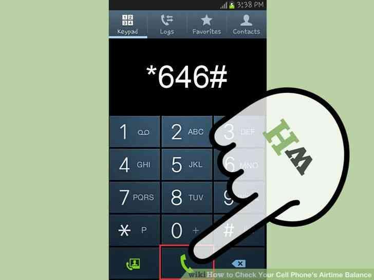 Imagen titulada Verificación de Su Teléfono móvil Airtime Balance Step 2