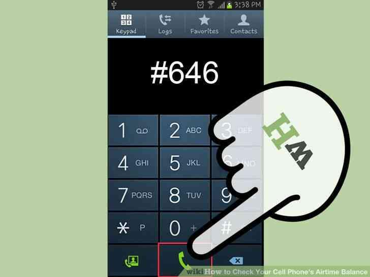 Imagen titulada Verificación de Su Teléfono móvil Airtime Balance Step 5