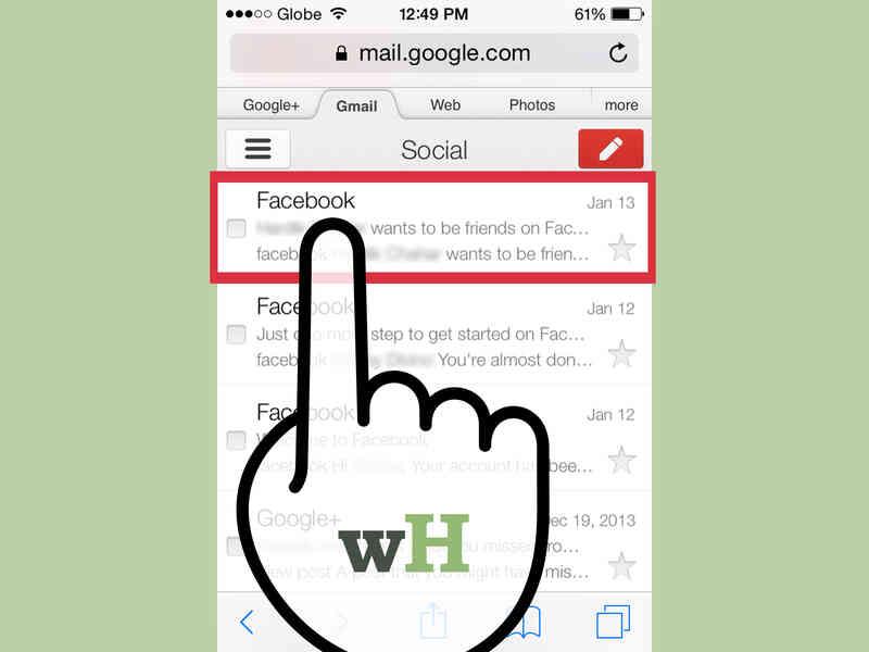 Cómo revisar Tu Facebook Correo electrónico en Su Teléfono
