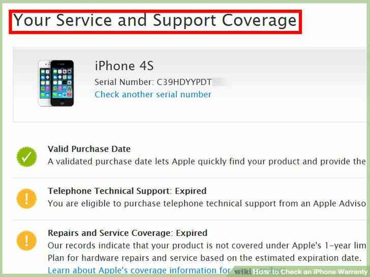 Imagen titulada Echa un iPhone Garantía Paso 8