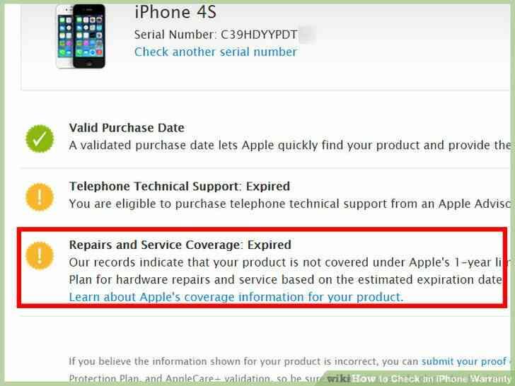 Imagen titulada Echa un iPhone Garantía Paso 9