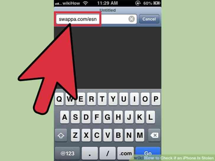 Imagen titulada Comprobar si un iPhone Es Robado Paso 3