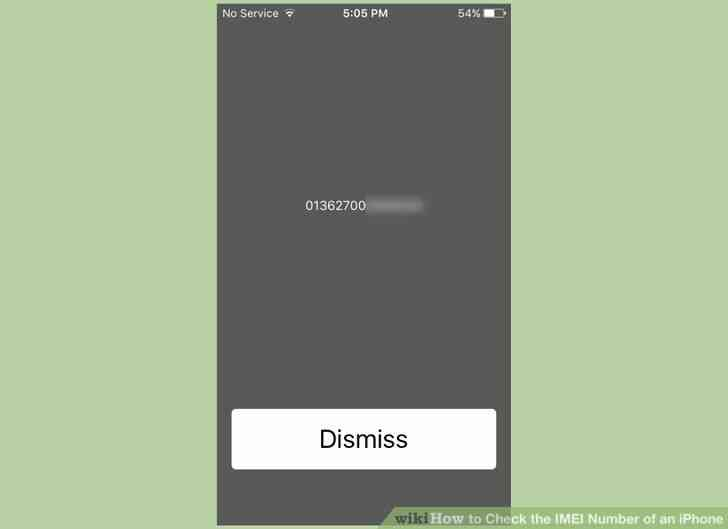 Imagen titulada Comprobar el Número de IMEI de un iPhone a un Paso de 10
