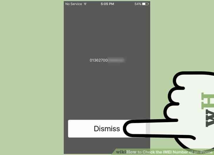Imagen titulada Comprobar el Número de IMEI de un iPhone a un Paso de 12