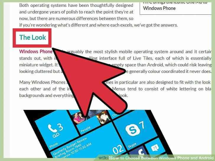 Imagen titulada Elegir Entre Windows Phone y Android Paso 1