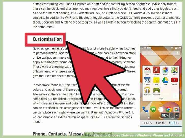 Imagen titulada Elegir Entre Windows Phone y Android Paso 5