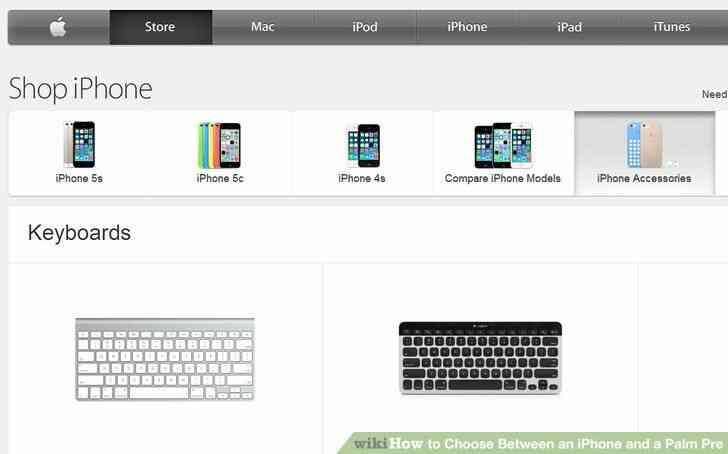 Imagen titulada Elegir Entre un iPhone y un Palm Pre el Paso 5
