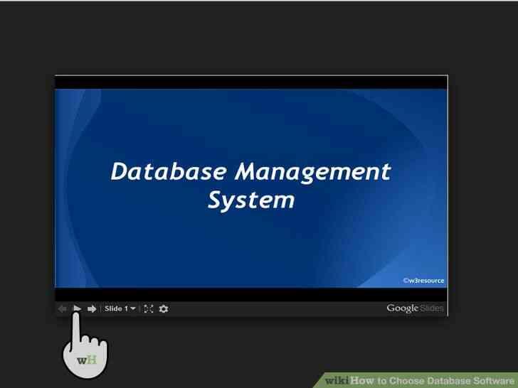 Imagen titulada Elegir Software de Base de datos Paso 10