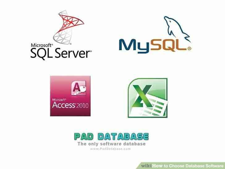Imagen titulada Elegir Software de Base de datos Paso 3