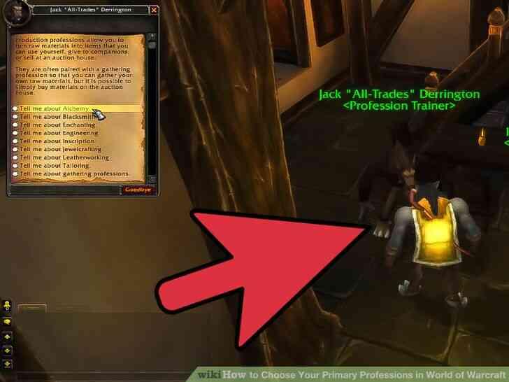 Imagen titulada Elegir Su Principal Profesiones en el Mundo de Warcraft Paso 1