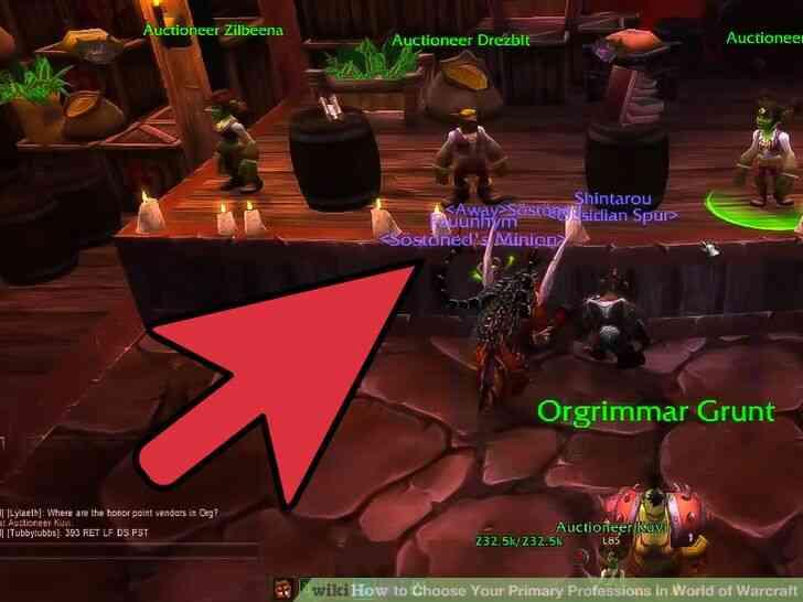 Imagen titulada Elegir Su Principal Profesiones en el Mundo de Warcraft Paso 7