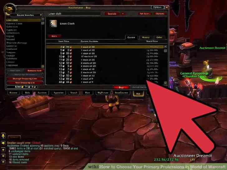 Imagen titulada Elegir Su Principal Profesiones en el Mundo de Warcraft Paso 8