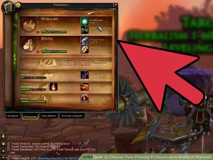 Imagen titulada Elegir Su Principal Profesiones en el Mundo de Warcraft Paso 9