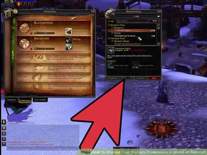 Imagen titulada Elegir Su Principal Profesiones en el Mundo de Warcraft Paso 13