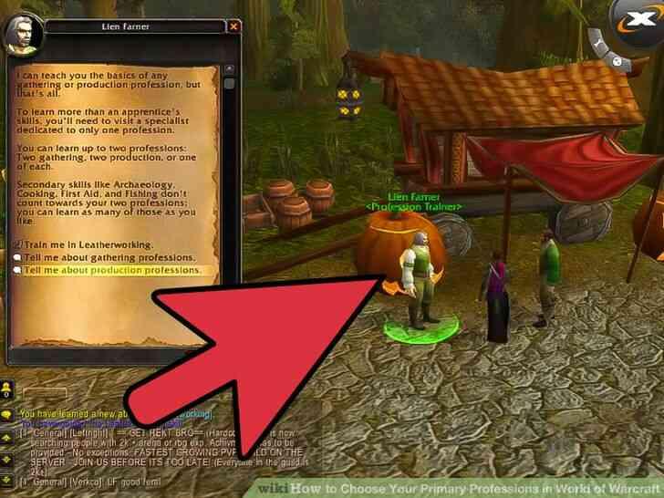 Imagen titulada Elegir Su Principal Profesiones en el Mundo de Warcraft Paso 16