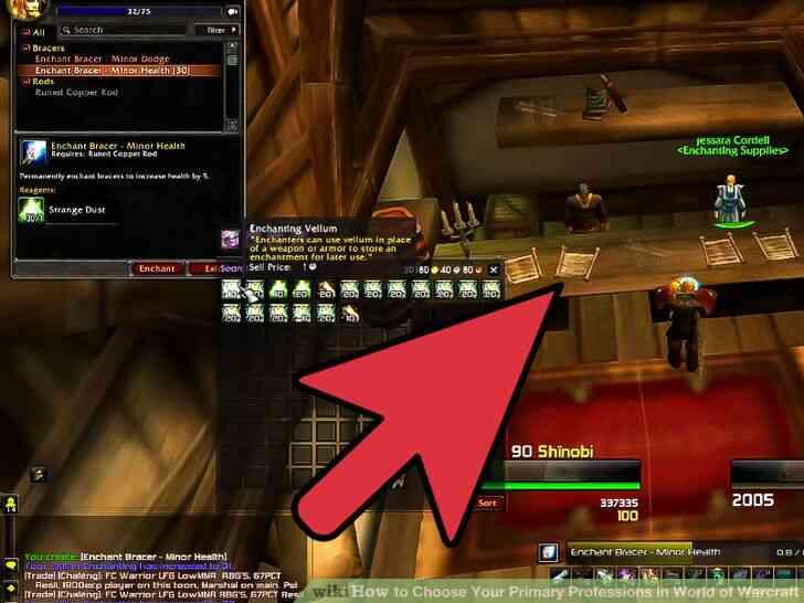 Imagen titulada Elegir Su Principal Profesiones en el Mundo de Warcraft Paso 3
