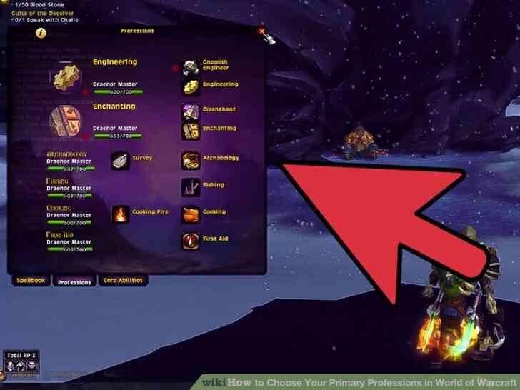 Imagen titulada Elegir Su Principal Profesiones en el Mundo de Warcraft Paso 4