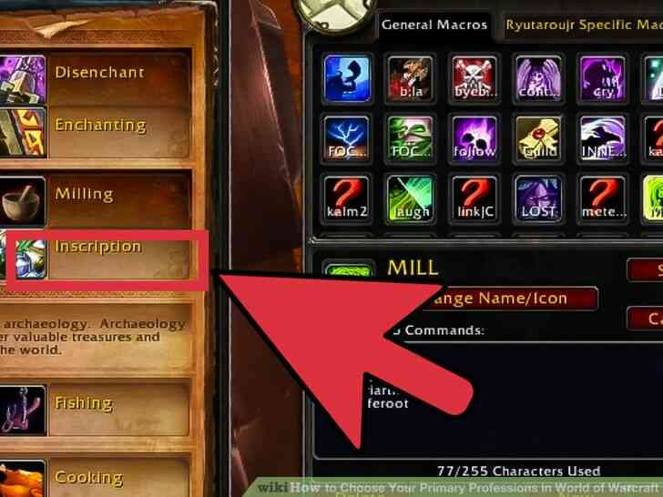 Imagen titulada Elegir Su Principal Profesiones en el Mundo de Warcraft Paso 5