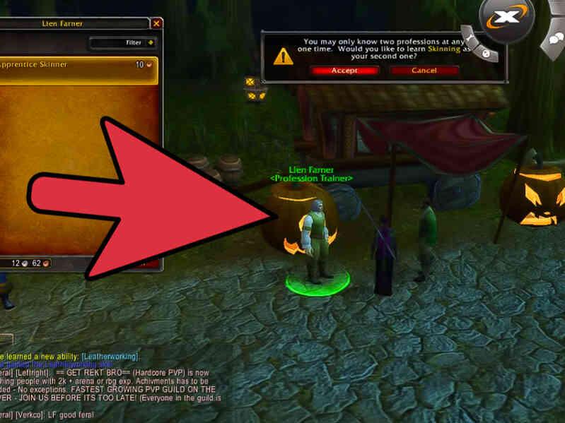 Cómo Elegir las Profesiones Primarias en World of Warcraft