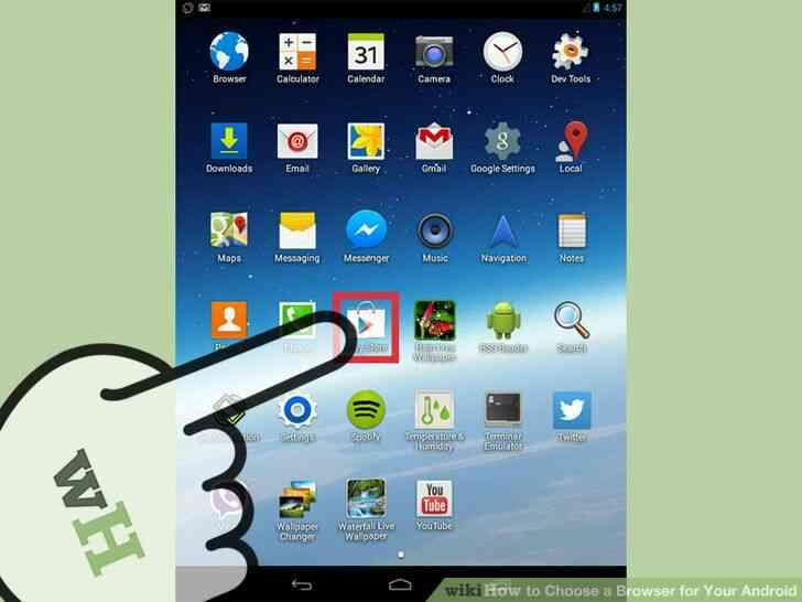 Imagen titulada Elegir un Navegador para Android Paso 1
