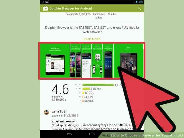Imagen titulada Elegir un Navegador para Tu Android el Paso 6